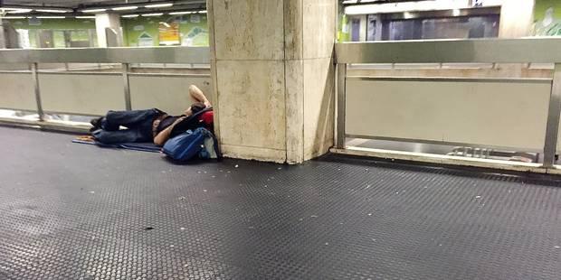 Bruxelles: la station Bourse imprégnée d'urine jusqu'en 2019 - La DH