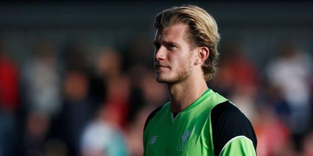 Le gardien allemand de Liverpool Karius renonce aux JO pour mieux concurrencer Mignolet - La DH