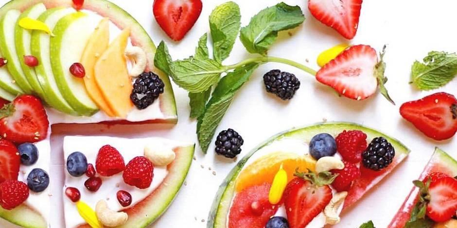 Une pizza faite de fruits, la nouvelle tendance gourmande