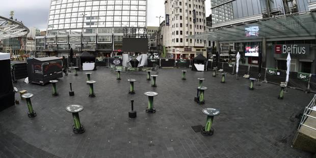 Terrorisme: les 3 hommes soupçonnés d'avoir voulu commettre un attentat à Bruxelles restent en détention - La DH