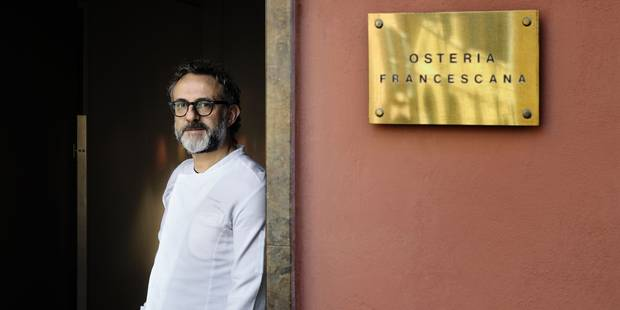 Massimo Bottura, élu chef du meilleur restaurant du monde - La DH