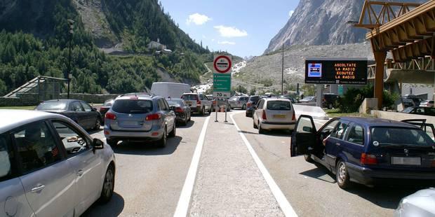 Départs en vacances: circulation chargée vers la France - La DH