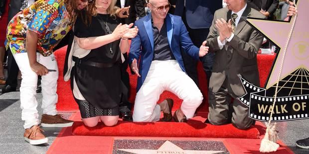 Le rappeur Pitbull reçoit une étoile sur le Hollywood Walk of Fame - La DH
