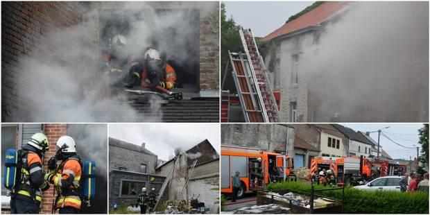 Mettet: incendie dans une habitation à Stave - La DH