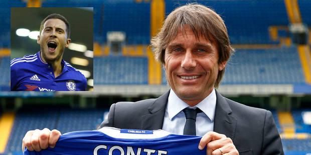 """Antonio Conte: """"C'est important de retrouver un Hazard dans les meilleures dispositions"""" - La DH"""