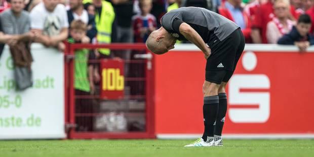 Arjen Robben, de nouveau blessé, absent six semaines - La DH