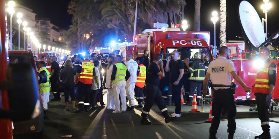 """Attentat de Nice: la """"neutralisation"""" du tueur racontée par un policier"""