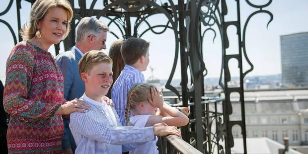La famille royale en vacances à Bruxelles (PHOTOS) - La DH