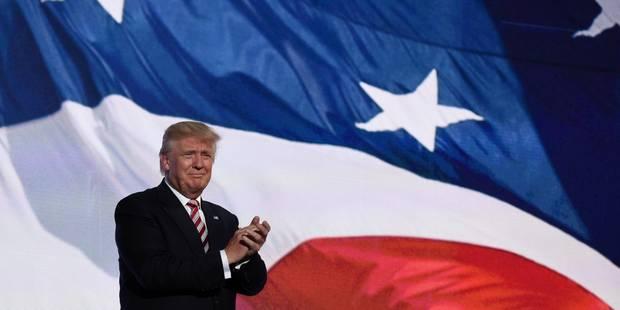 Acclamé par son parti, Donald Trump accepte l'investiture républicaine (PHOTOS) - La DH