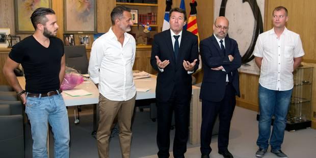 """Attentat de Nice : trois """"héros"""" récompensés par la médaille de la Ville (PHOTOS) - La DH"""