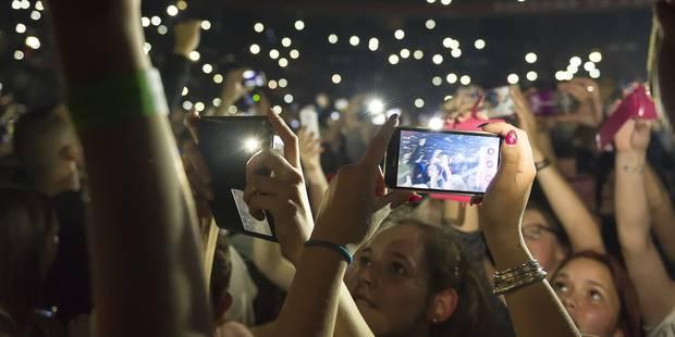 Insupportables ou incontournables? Quand les smartphones s'invitent dans les concerts - La DH