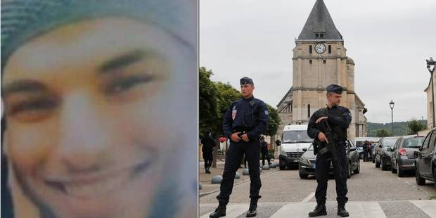 Attentat dans une église en France: Adel Kermiche avait été libéré notamment en raison de ses idées suicidaires - La DH