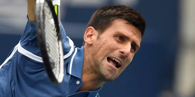 Monfils ramené sur terre par Djokovic à Toronto