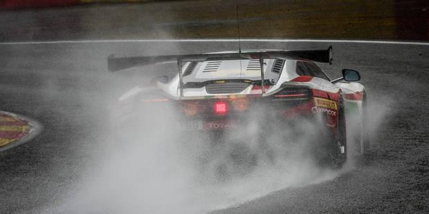 24h de Spa: la pluie sème la panique à 30 minutes de l'arrivée - La DH