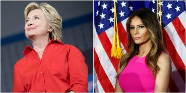 Hillary Clinton, Melania Trump : les femmes de la campagne présidentielle cibles d'attaques sexistes - La DH