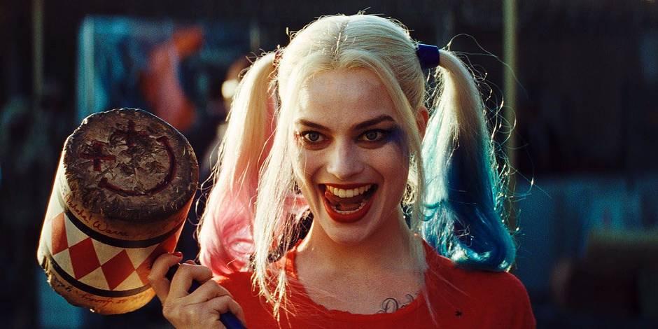 Margot Robbie, la fiancée sexy du Joker