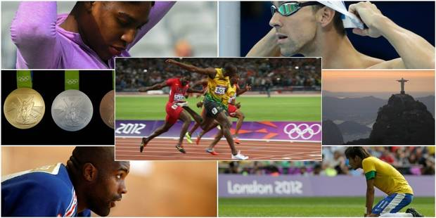 Bolt, Phelps, Williams, Riner, Neymar : 5 seigneurs des anneaux - La DH