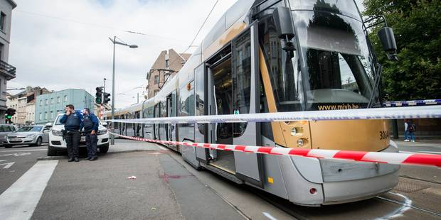Sept blessés à la suite d'une collision entre deux trams - La DH