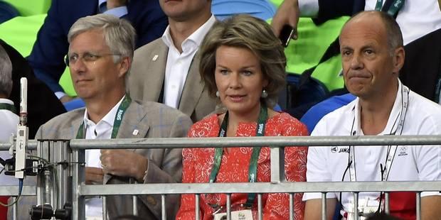 La reine Mathilde à fond derrière les Belges à Rio - La DH