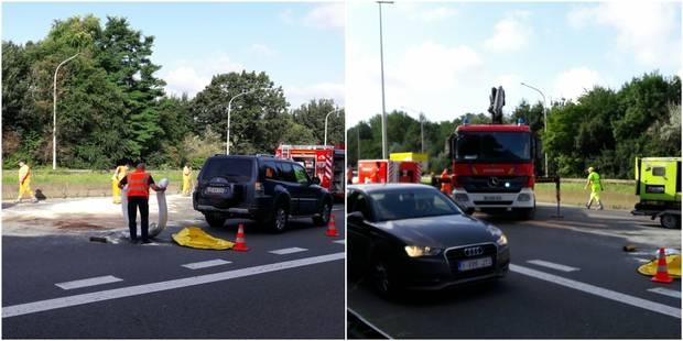 Accident sur la E411: toujours des files sur plusieurs kilomètres à hauteur de Bierges - La DH