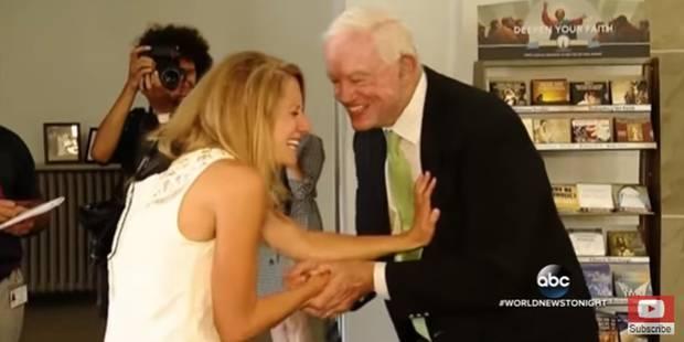 Une mariée conduite à l'autel par celui qui porte le coeur de son père (VIDEO) - La DH