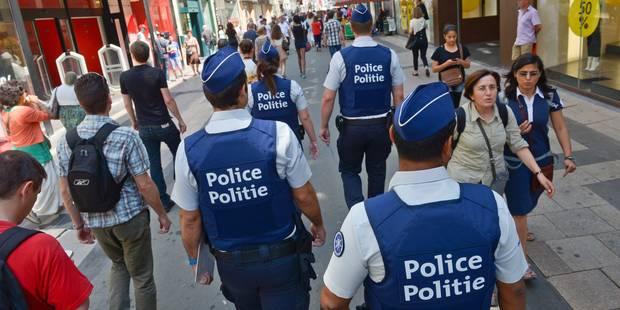 Moins de violence à l'encontre des agents de police - La DH