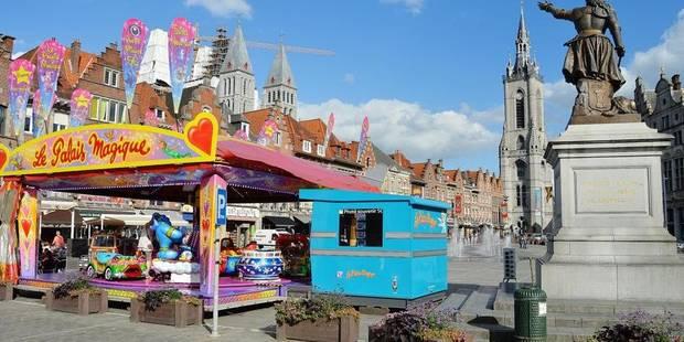 La foire pas prête de revenir en centre-ville à Tournai - La DH