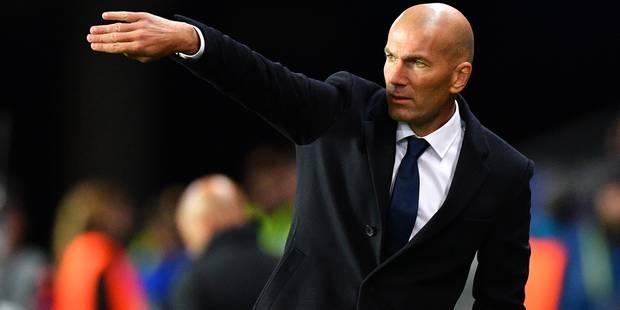 Supercoupe d'Europe: Zidane surpris dans la joie par ses joueurs (VIDEO) - La DH