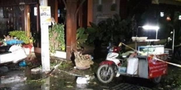 Double attentat dans une station balnéaire de Thaïlande: un mort, 19 blessés dont des touristes étrangers (PHOTOS + VIDE...