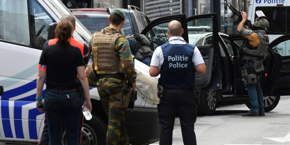 Terrorisme: 8 perquisitions à Bruxelles, 3 personnes emmenées puis remises en liberté