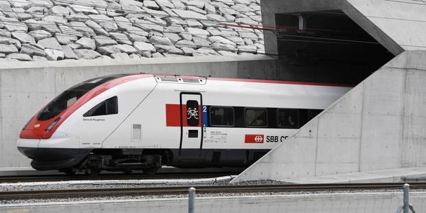 """Attaque dans un train suisse: pas d'""""indice"""" d'acte terroriste, selon la police - La DH"""