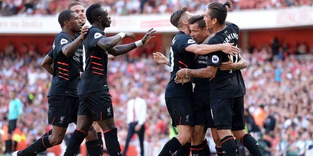 Liverpool s'offre Arsenal au terme d'un match fou (3-4) - La DH
