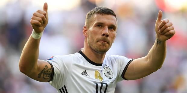 Podolski annonce sa retraite internationale - La DH