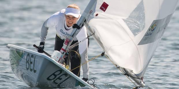 Les Belges à Rio: Evi van Acker pénalisée au départ termine 4e - La DH