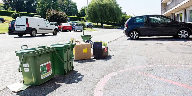 Les Sérésiens se vengent à coups de poubelles - La DH