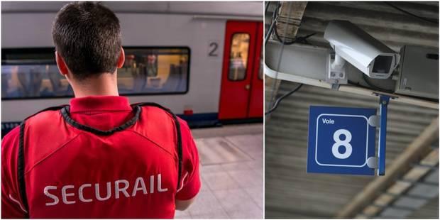 Attaques dans les trains: la SNCB va installer 1.000 caméras supplémentaires - La DH