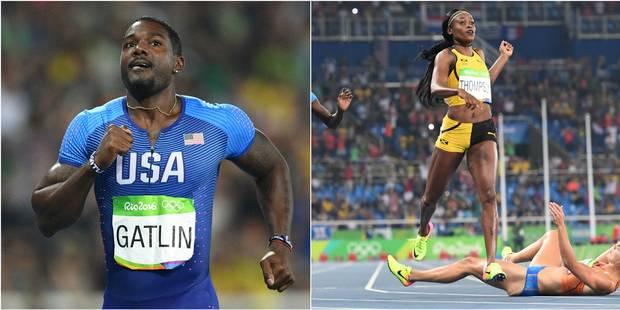 Les perfs de Rio: Bolt qualifié sur 200, pas Gatlin, Elaine Thompson (encore) en or - La DH