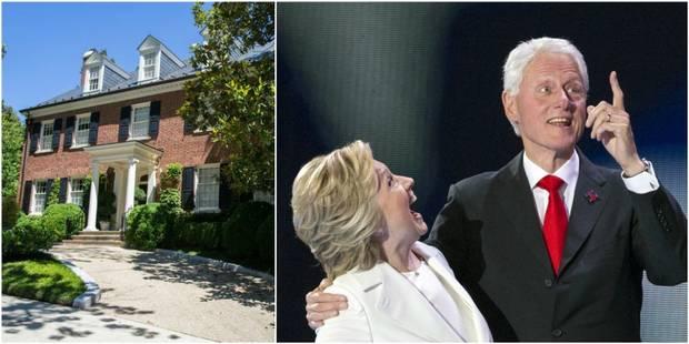 L'ascension des Clinton vue à travers leurs maisons - La DH