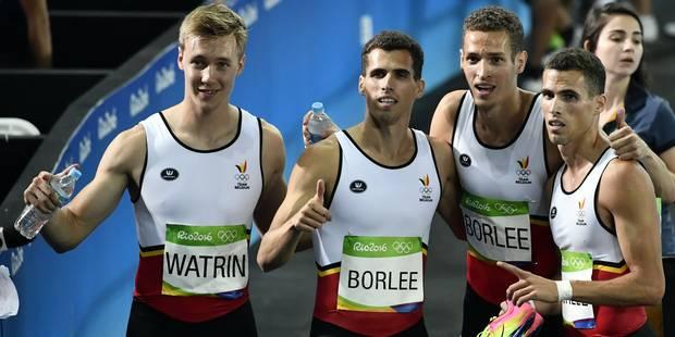 Finale, record et espoir de médaille pour le relais 4x400m belge - La DH