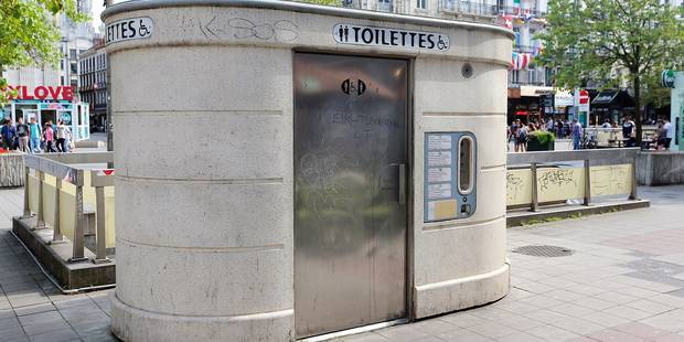 Toilettes gratuites dans le pentagone à Bruxelles - La DH