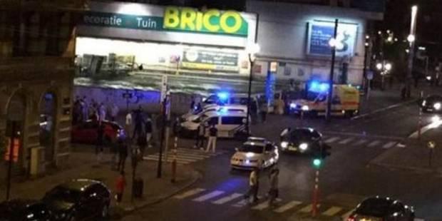 Fusillade à Laeken: un homme grièvement blessé (VIDEO) - La DH