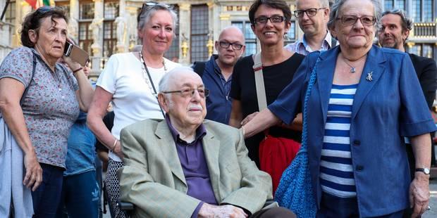 Vibrant hommage à Toots Thielemans sur la Grand-Place de Bruxelles (PHOTOS + VIDEO) - La DH