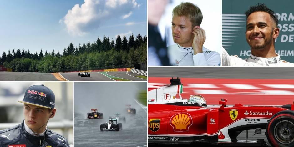 """GP de Spa-Francorchamps: """"Hamilton a plus la niaque et le profil du champion"""" - La DH"""
