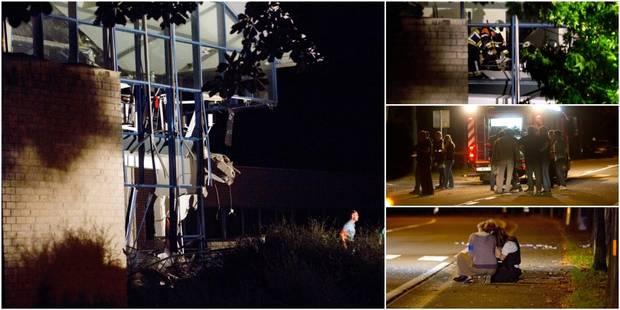 Terrible explosion au centre sportif de Chimay: 1 mort et 4 blessés - La DH