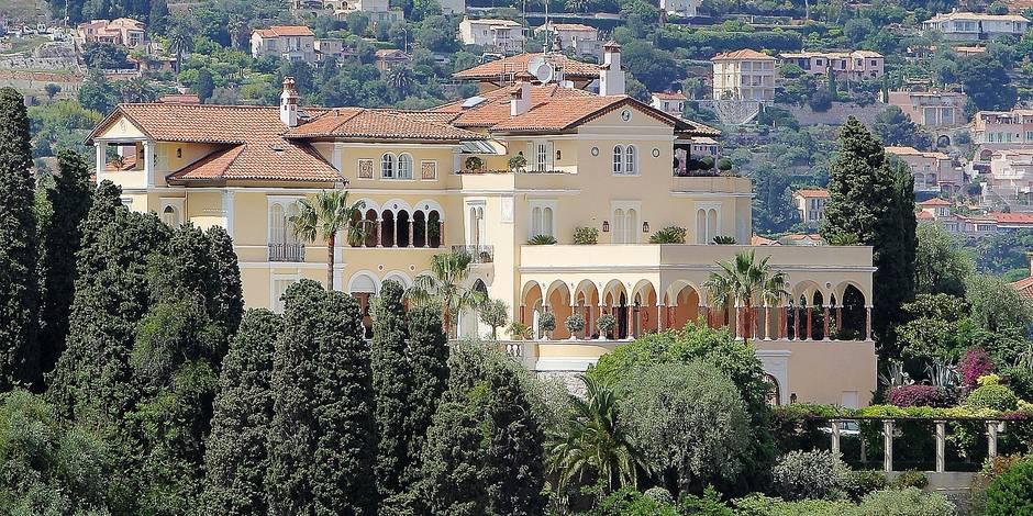 Un milliard d euros pour l ancienne villa du roi l opold for Jardinier belgique