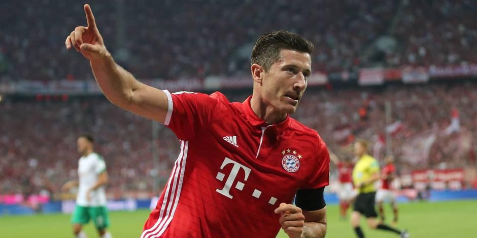 Le Bayern atomise Brême en ouverture de la Bundesliga