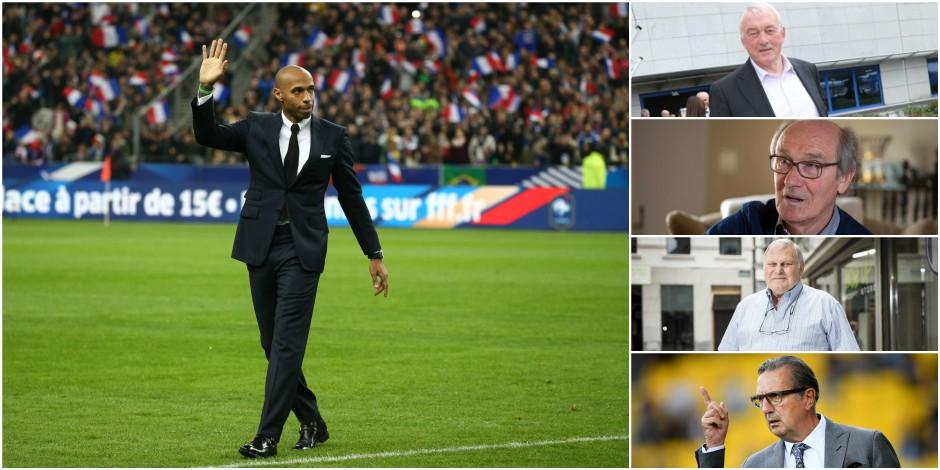Thierry Henry ne fait pas l'unanimité chez les anciens sélectionneurs