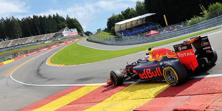 GP de Belgique: un Max pour un public très chaud