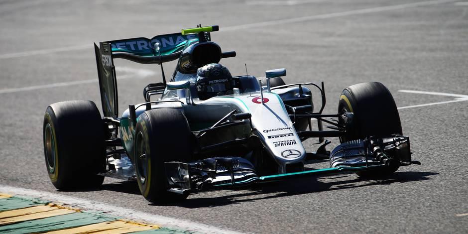 GP de Belgique: Nico Rosberg partira en pôle position