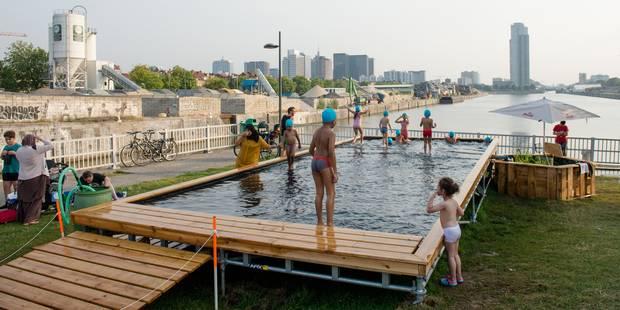 """La piscine en plein air """"attire beaucoup de monde"""" - La DH"""